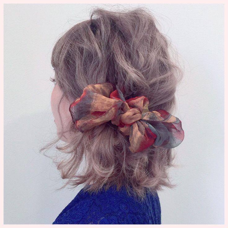 簡単!かわいい!モテる!その髪形はハーフアップ 【HAIR】