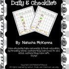 FREE! Daily 5 Checklist! Have students take ownership in their education by tracking which centers they have been to and which centers they have left. Enjoy! ...