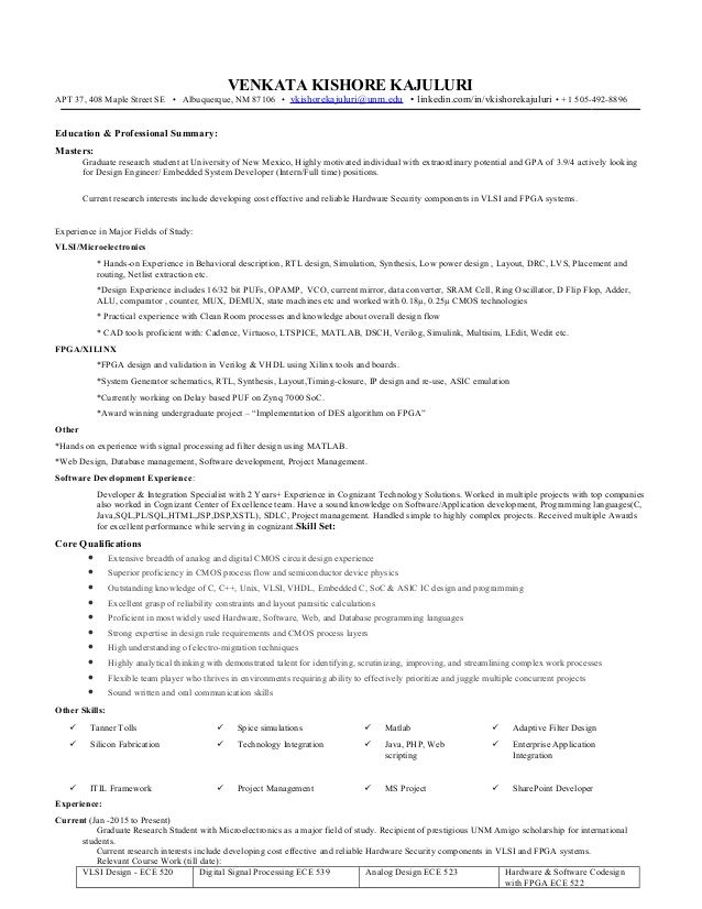 Digital Image Processing Resume Venkata Kishore Venkat602609 On Pinterest