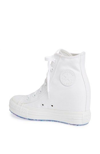 Converse Chuck Taylor® All Star® 'Platform Plus' Hidden Wedge High-Top Sneaker (Women) | Nordstrom