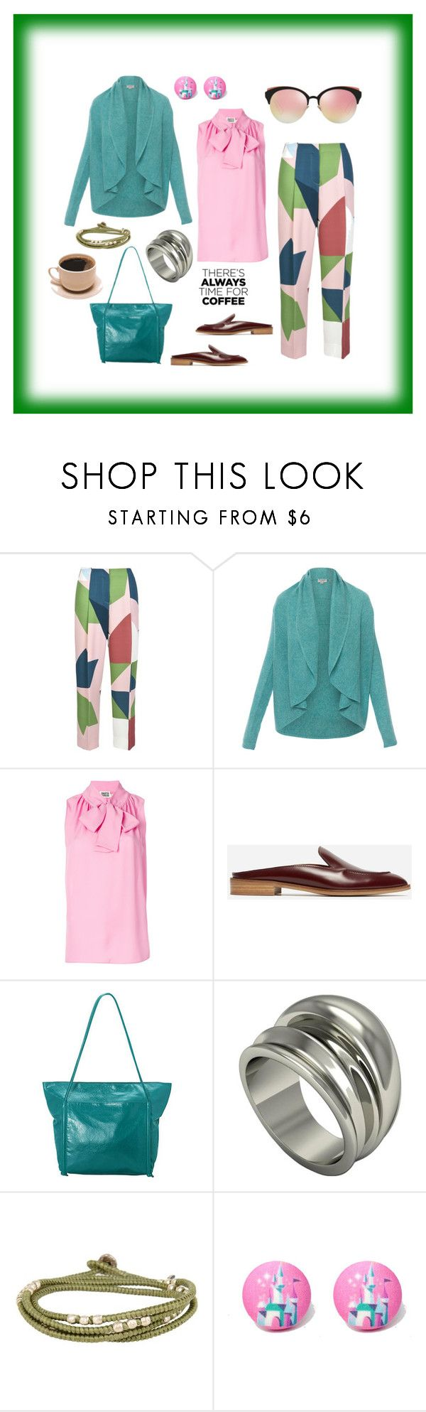 """""""casual coffee date"""" by moestesoh ❤ liked on Polyvore featuring Parden's, Repeat, FAUSTO PUGLISI, Everlane, Latico, Barbara Nanning, M. Cohen, Christian Dior and CoffeeDate"""