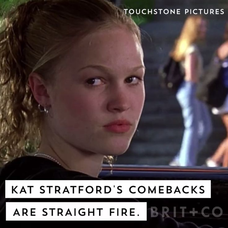 10 Things I Hate About You's Kat Stratford had the best comebacks ever. Watch this video for proof.
