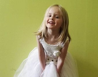 Vestido de flores vestido de niña blanco, tutú, primer Vestido de bautismo de vestido, vestido de comunión, de cumpleaños, bautizo, traje de la niña, princesa vestido de