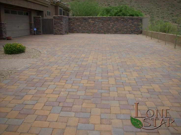 Belgard Toscana Cambride Cobble pavers in driveway in ...