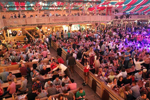 The Total Inescapable Joy of a German Beer Festival