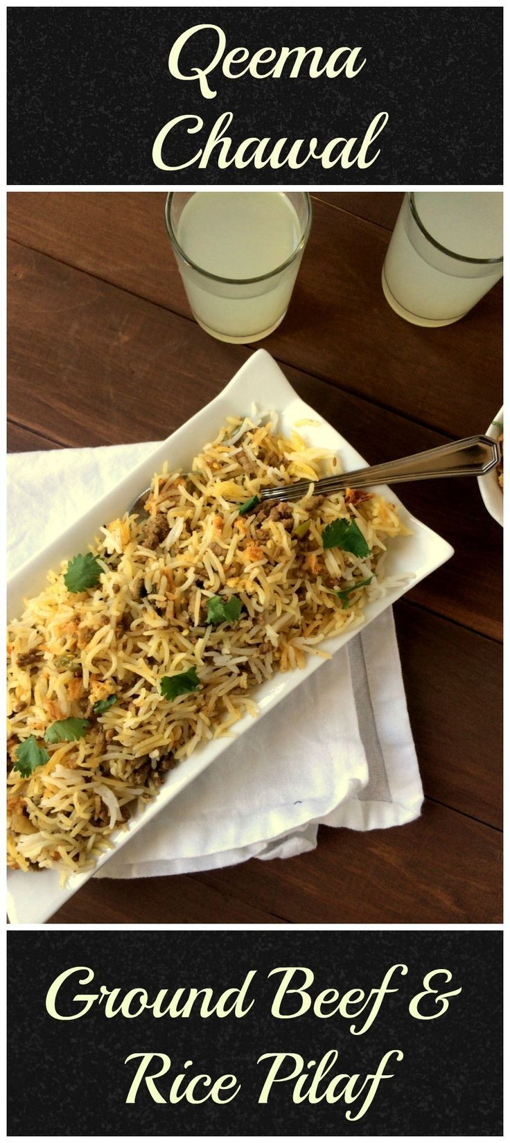 Keema Chawal Pakistani Recipe Ground Beef Rice Pilaf So Kid Friendly Flour Spice Recipe Ground Beef Rice Beef And Rice Food