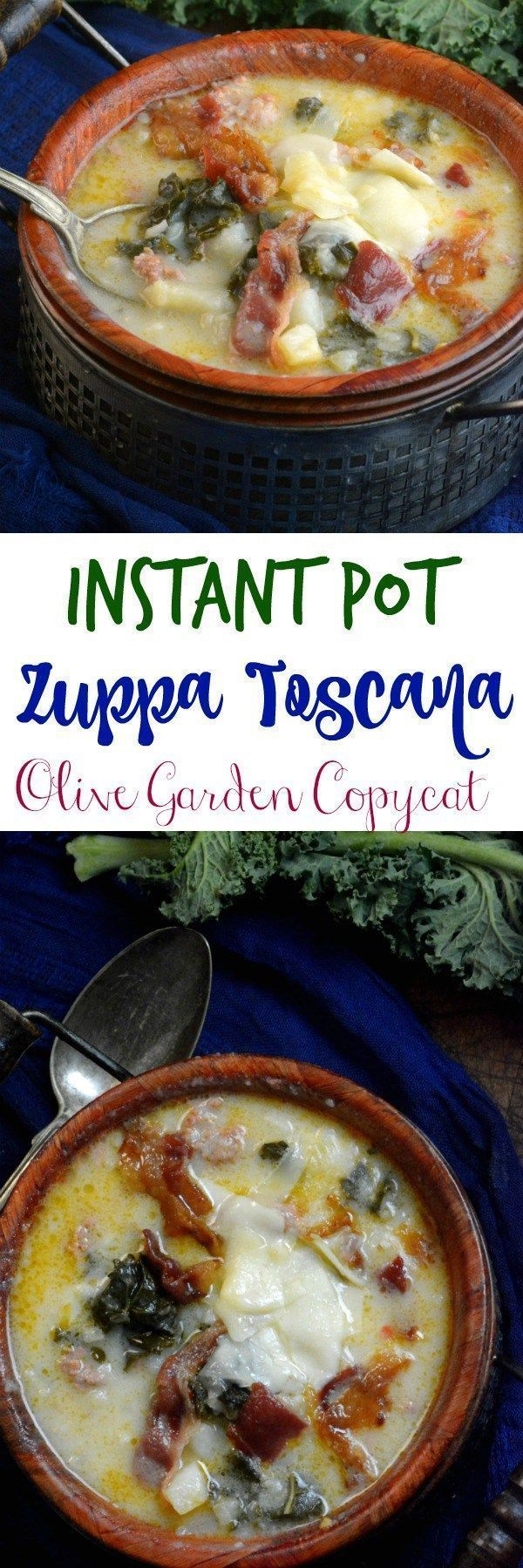 2258 best instant pot images on pinterest for How much is soup and salad at olive garden
