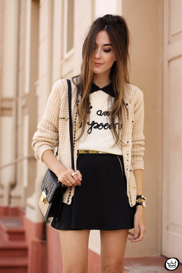 FashionCoolture - 26.04.2015 look du jour Dafiti nude and black (2)