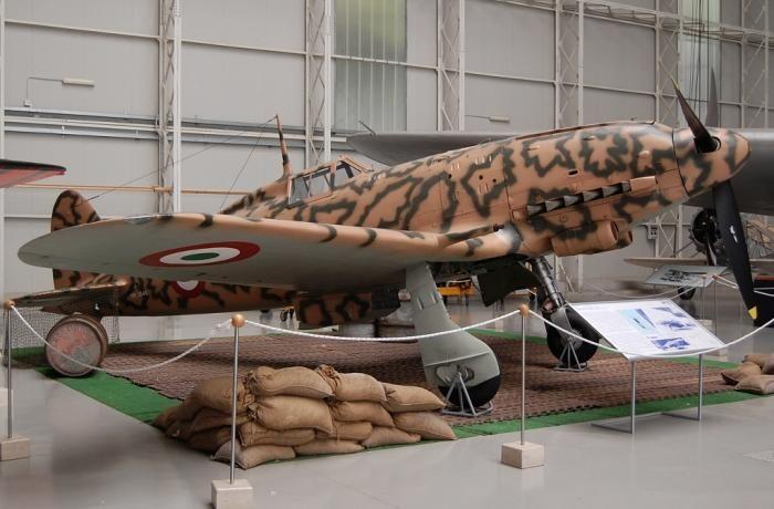 L'Aer. Macchi C.205 Veltro Museo dell'AMI di Vigna di Valle
