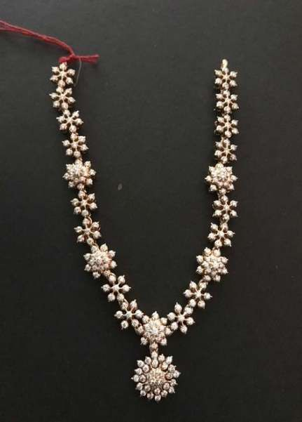 60+ Trendy jewerly necklace simple diamond silver chains