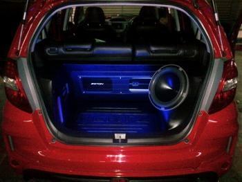 Instalasi Audio Mobil Honda Jazz