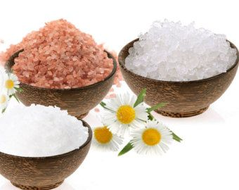 BATH SALT: Three Kings - Bath Salt featuring Pink Himalayan salt, Sea salt and Epsom salt with choice of scent 200g
