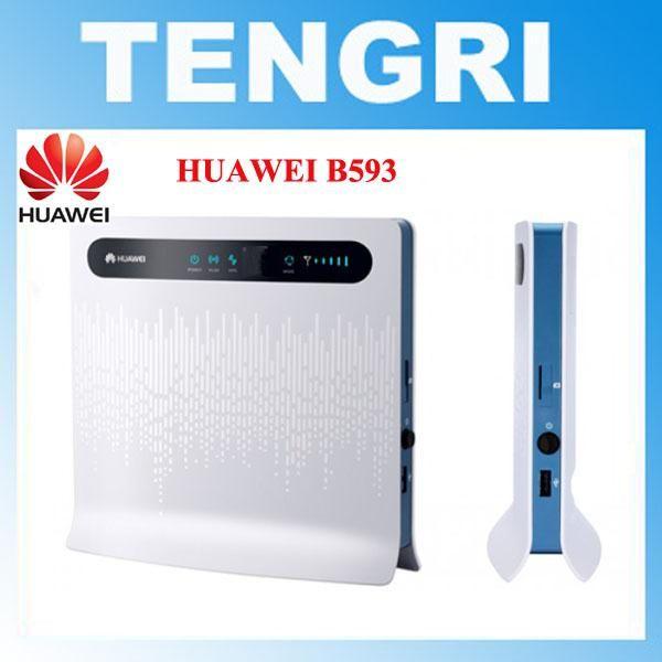 unlocked Huawei B593 B593U-12 B593S-12 100Mbps 4G LTE FDD
