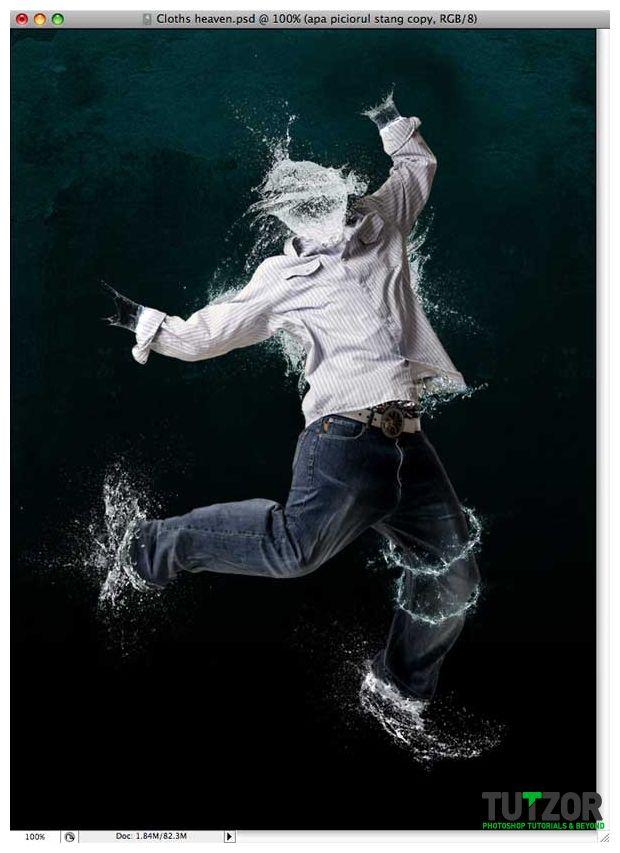 Water effect photo montage }-> repinned by www.BlickeDeeler.de