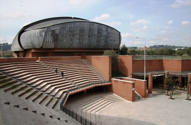 Auditorium Parco della Musica  Location: Roma, Italy  Opened: December 21st, 2002  Function: Concert Hall  Architect: Renzo Piano