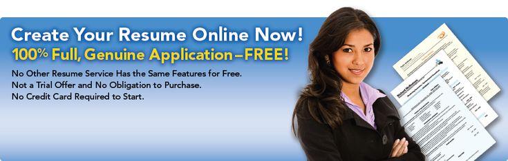 Free Online Resume Builder Websites