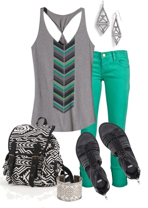 """Tribal mint"" by jayneann1809 on Polyvore"
