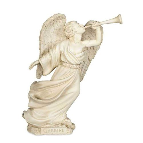 The Gabriel Home & Garden Angel is made from high quality polystone. The Angel is great for outdoors or indoors. Beautiful Angel for the home or garden is a touching tribute in honor of your loved one.
