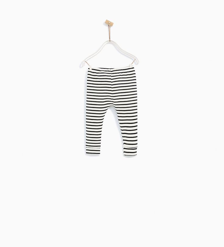 ZARA - COLLECTION SS/17 - STRIPED LEGGINGS