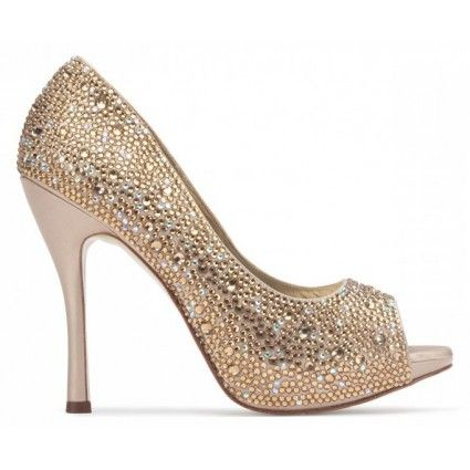 Bellissimabridalshoes Bridal Shoes Champagne