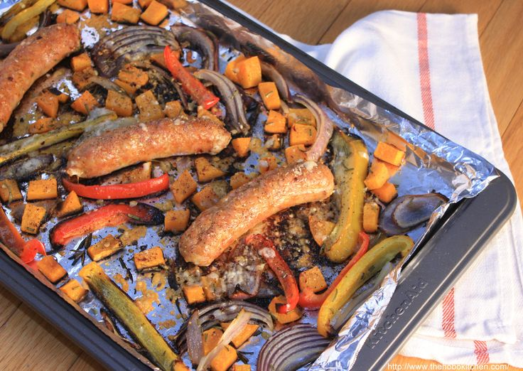 Roasted Sausage & Peppers