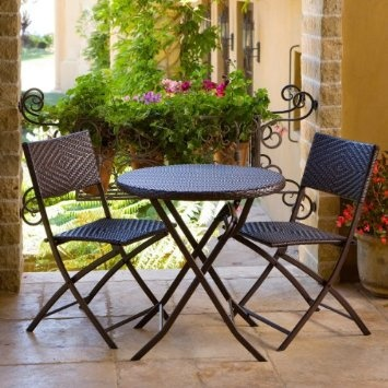 High Quality Amazon.com: RST Outdoor Bistro Patio Furniture, 3 Piece: Patio,