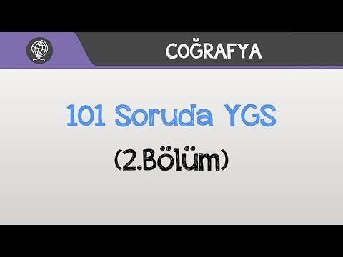 101 Soruda YGS Coğrafya - (2. Bölüm) - YouTube