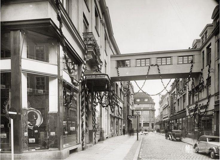 Königsberg. Altstädtische Langgasse.
