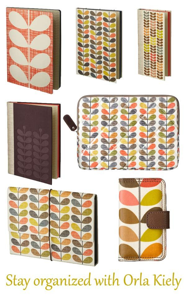 Orla Kiely. I have the laptop case it brilliant!