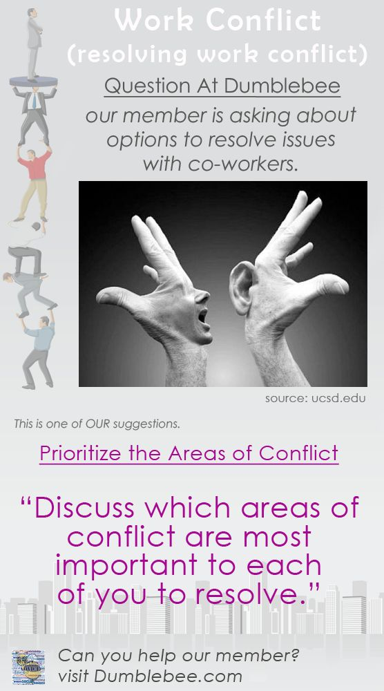 Describe strategies for managing interpersonal conflicts.