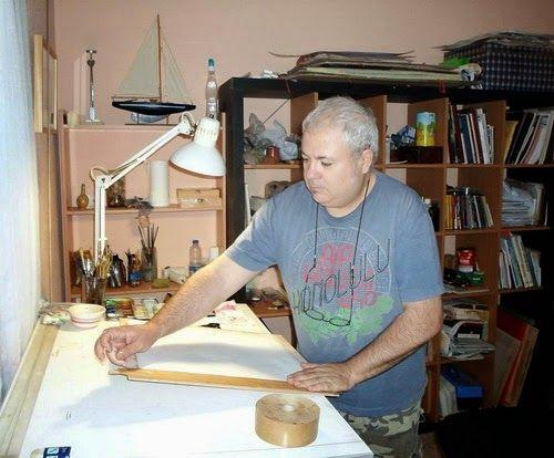AVATARTE: MANUEL BUENDÍA: Pintor realista