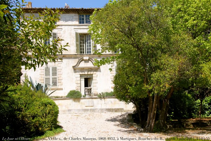 Bastide du Chemin de Paradis - demeure de Charles Maurras - Charles Maurras —…