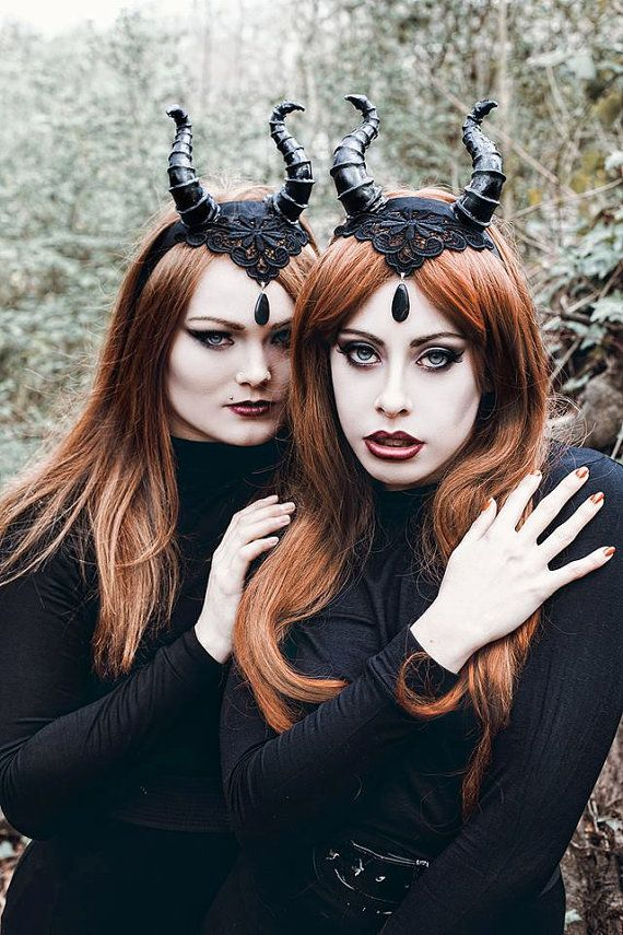 Maleficent Horns NO LACE for Lusy Logan