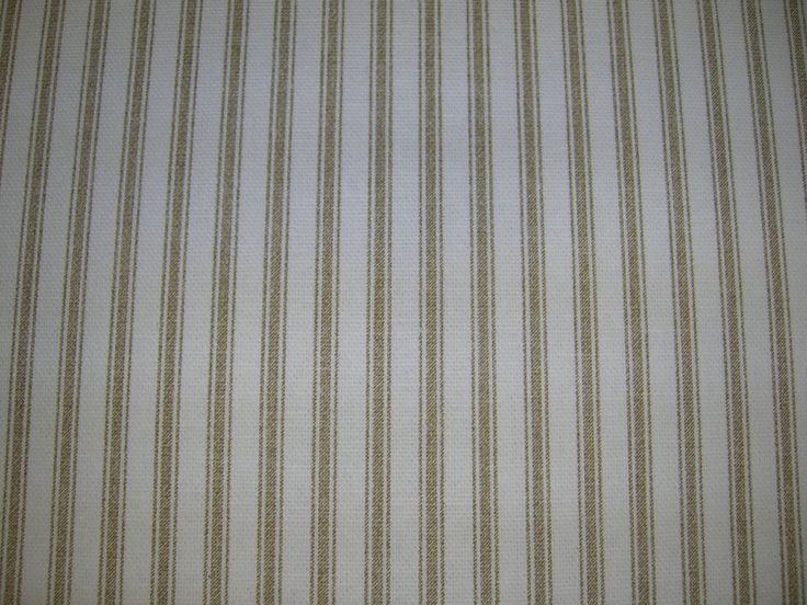 Tan and White - Shower Curtain No Liner Needed - Made in USA