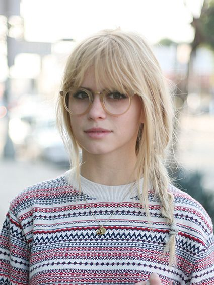 Oliver Peoples — Carlson Young | Oliver Peoples - Reeves Frame |...