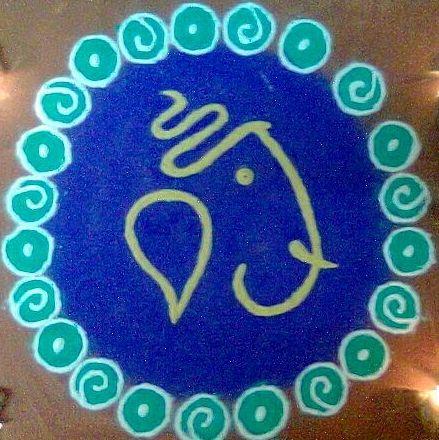 1000 Ideas About Rangoli Designs On Pinterest Flower Rangoli Easy And Gudi Padwa