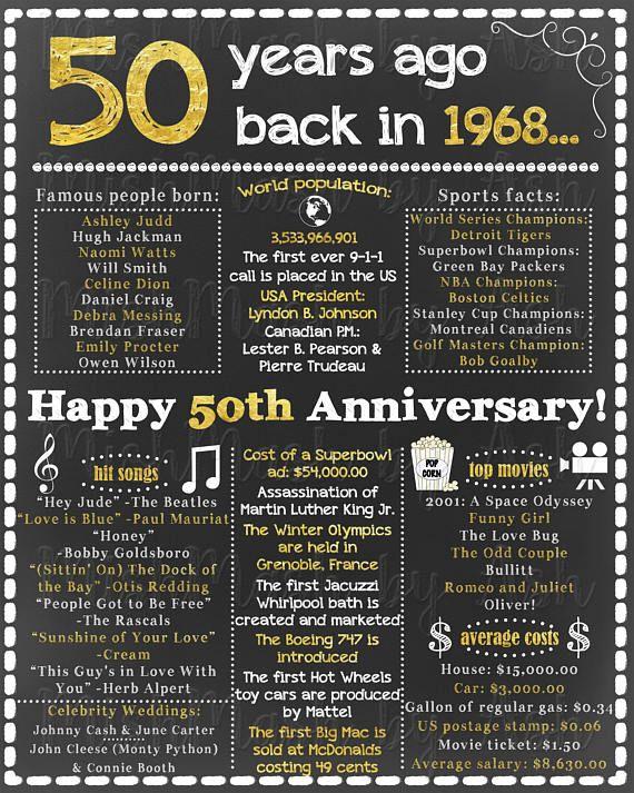 Pin On 50th Anniversary