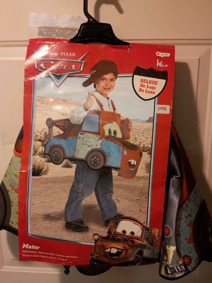 Tow Mater Tow Truck Disney Pixar Cars Cars 2 Costume Toddler Size
