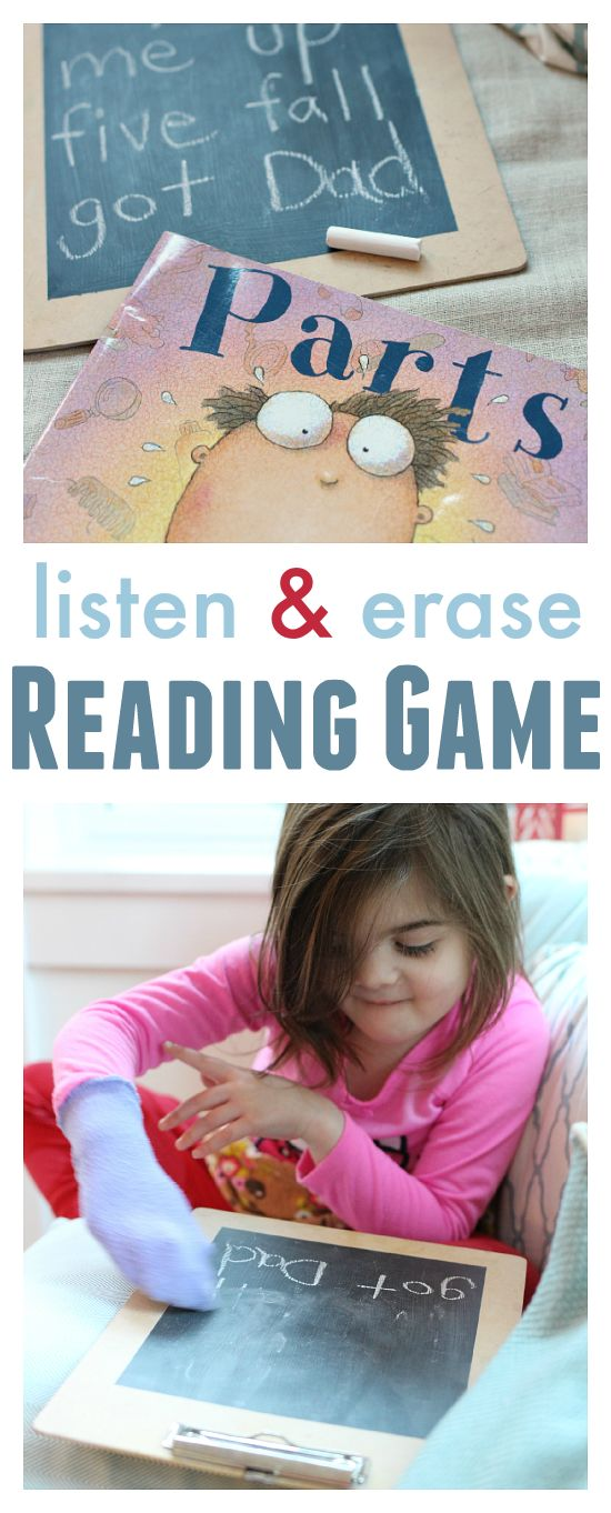 what a simple reading game! You can use your child's favorite book as a vehicle for word recognition. Great for sight word practice.