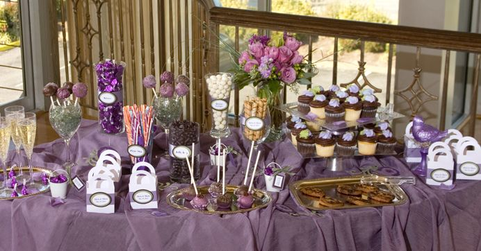 Who doesn't love candy, right? Candy buffet tables are a fun wedding trend being used in different ways by brides. Maybe a traditional wedding cake isn't your style… or maybe you just have a wild sweet tooth and want to celebrate that on your BIG day? Some brides just want to add some whimsy to the reception, while others have the candy buffet do double duty as the guest favors. Some couples are opting out of serving an expensive wedding...
