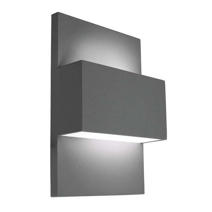 Norlys Geneve 40W Twin Outdoor Wall Light - Graphite £137