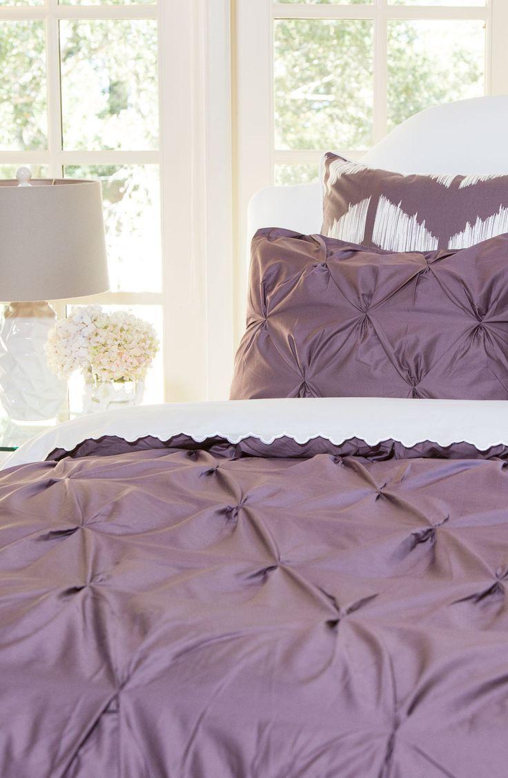 71 best bedding images on pinterest victoria secret pink pink plum purple valencia pintuck duvet cover twin twin xl
