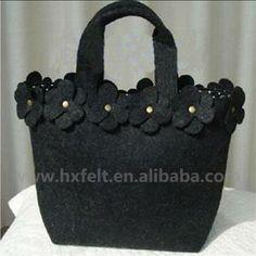 Felt Bag With Handmade Decorations , Find Complete Details about Felt Bag With Handmade Decorations,Felt Bag,Handmade Bag,Bag from Handbags Supplier or Manufacturer-Hebei Huaxing Felt Co., Ltd.