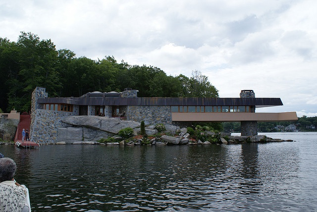 The whale by frank lloyd wright his last house petra Petra island mahopac ny