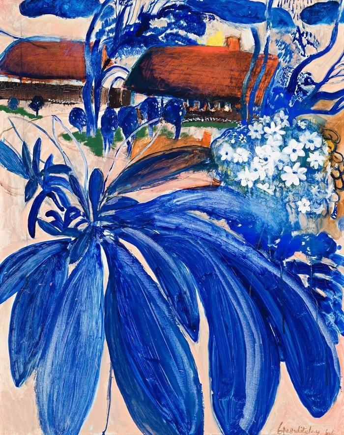 Brett Whiteley (Australian, 1939-1992),View from the Window, Bali, 1978 Oil on canvas, 95 x 75cm.