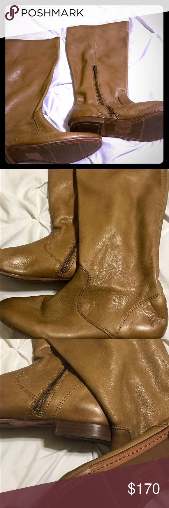 Frye women's mid calf boot size 9 Basically new. Worn 1x. Frye Shoes Heeled Boots