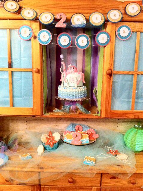 Under the Sea Birthday Spread