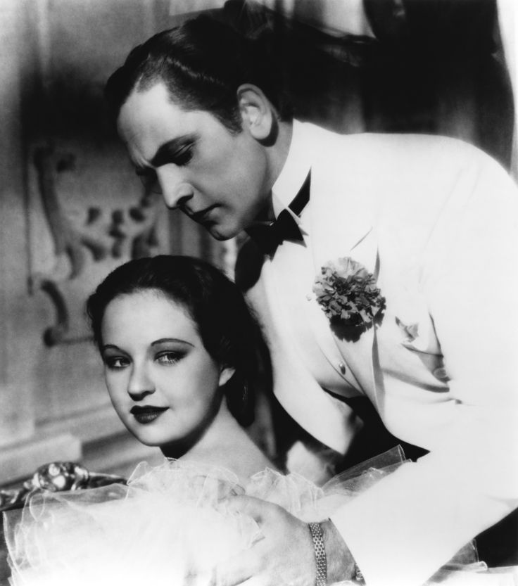 """Evelyn Venable and Fredric March in """"Death Takes a Holiday"""""""