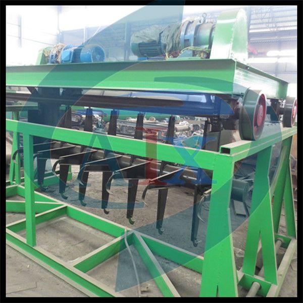 High capacity organic fertilizer compost turner for organic fertilizer composting
