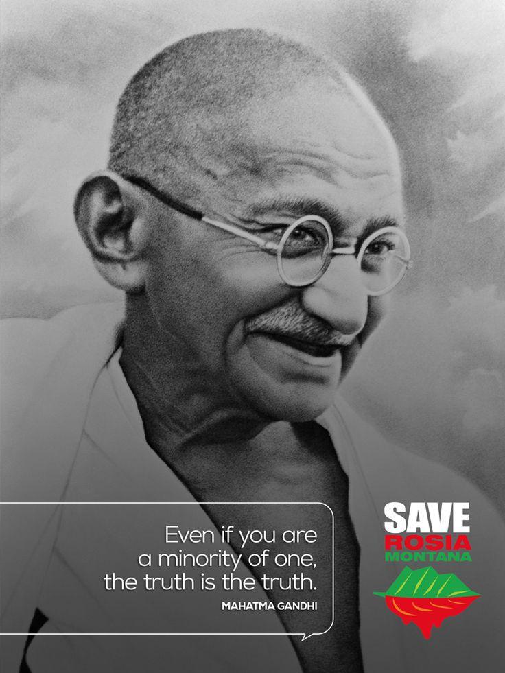 #Gandhi4RosiaMontana #SaveRosiaMontana